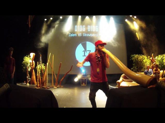 Didg To Didg 4 - 1/2 FINALES SOLO - Zalem VS Strawberry Man