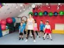 Современные танцы для детей 5-7 лет, 1-й год обучения /24.12.2015г./