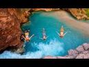 HAVASUPAI 2016 Cliff Jumping in Paradise