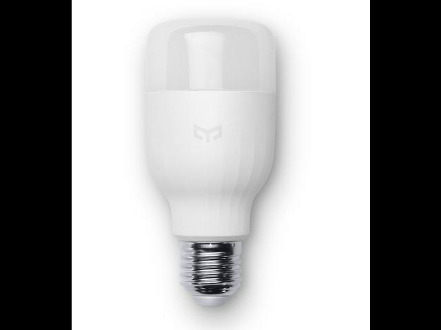Обзор лампы Xiaomi Yeelight smart LED lamp
