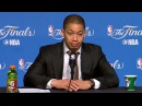 Tyronn Lue Postgame Interview  Game 3  Warriors vs Cavaliers  June 7 2017  2017 NBA Finals