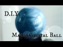 How to make a Fortune Teller's Crystal Ball DIY Halloween Prop The Magic Crafter