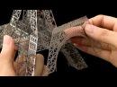 Лазерная Резка Эйфелевой башни ЧПУ Станок для лазерной резки