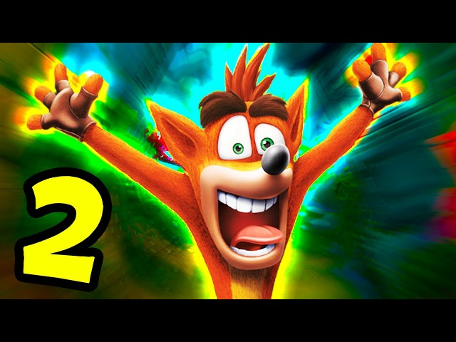 THIS WAS A MISTAKE | Crash Bandicoot NSane Trilogy - Part 2