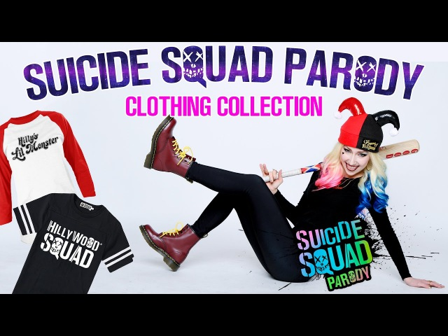Hillywood Clothing® | Suicide Squad Parody Collection