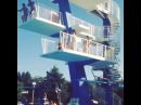 Double High Dive Blue Splash - An Der Schonen Blauen Donau · coub, коуб