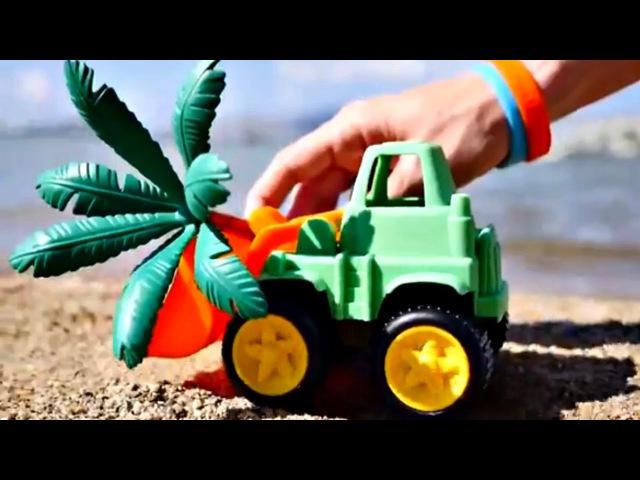 Jeux de plage jeuxdesable. Angry Bird angrybird plante une SURPRISE. Apprendre les couleurs🌈