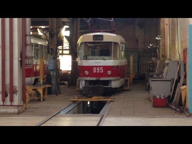 Заливаем в трамвай Татра т3 присадку микрокерамику Wagner (Вагнер)