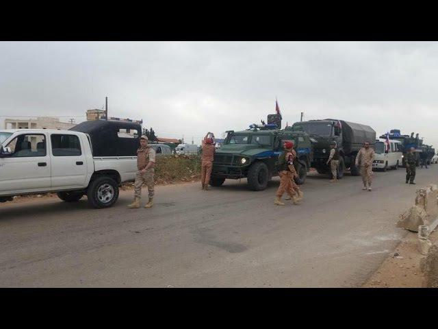 Колонны бронетехники России и США прибыли в курдские районы Сирии, встав между т...
