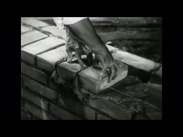 APW BF 357 Verlege Techniken beim Mauern II Beidhändig 1954 ohne Ton