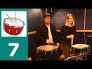 Уроки игры на барабанах с нуля учим новый ритм и играем под метроном