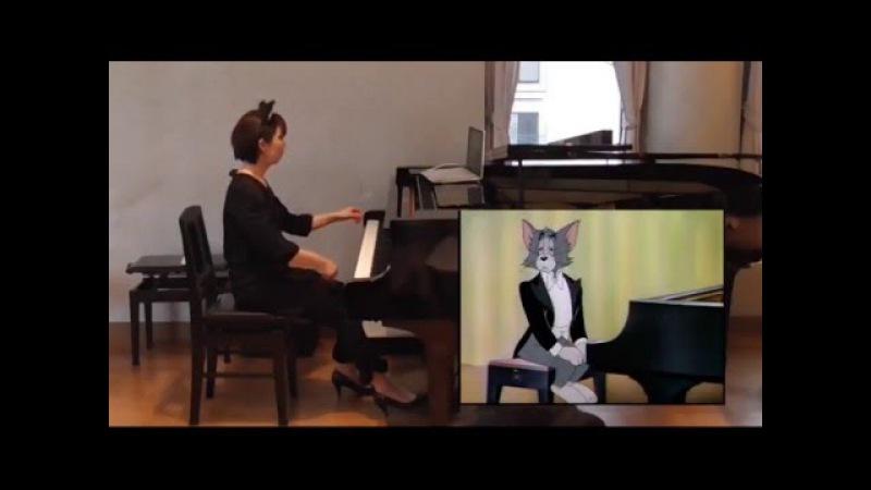 【映像付コンサート】トムとジェリー「ピアノ・コンサート」 Tom and Jerry The