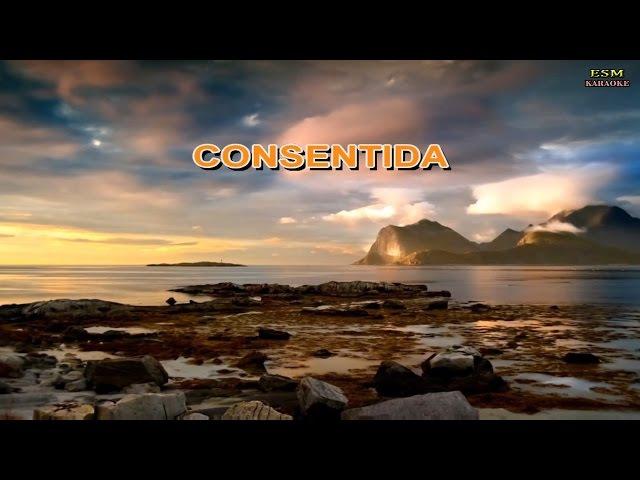 CONSENTIDA - KARAOKE | LOS DIAMANTES