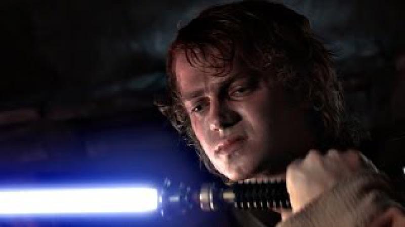 Энакин Скайуокер (Дарт Вейдер) против Оби-Вана Кеноби. ЧАСТЬ 2. Звёздные войны: Эпизод 3.