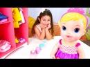 Bebekoyunları Buket kardeşine bakıyor Eğitici video Türkçe izle
