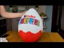 Как сделать большое яйцо Киндер Сюрприз