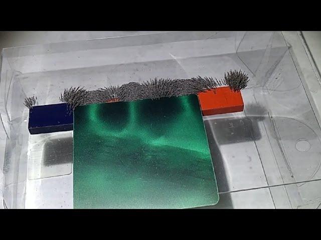 Это для ученых Шок Опыт с Металлическими опилками и Плёнка для визуализации Часть 9