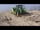 Hurricane Sandy Beach Cleanup with Beach Cleaning Machine