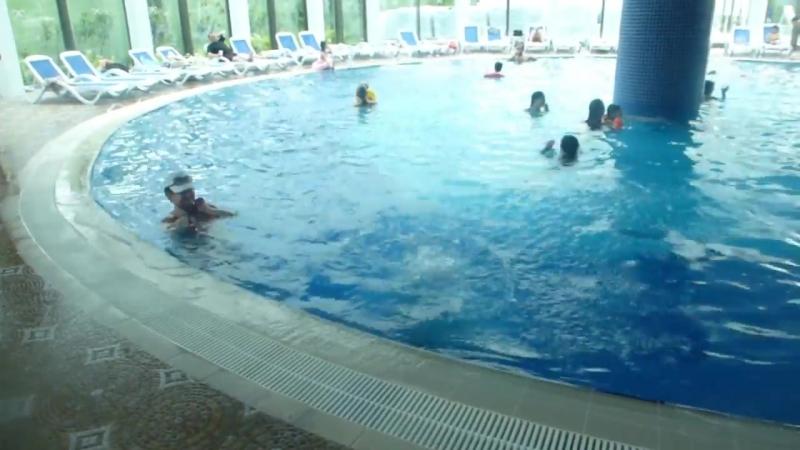 ALAN XAFIRA DELUXE RESORT SPA ОБЗОР ХАМАМ SPA крытый бассейн