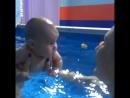 Грудничковое плавание бассейн Aquastars Алматы