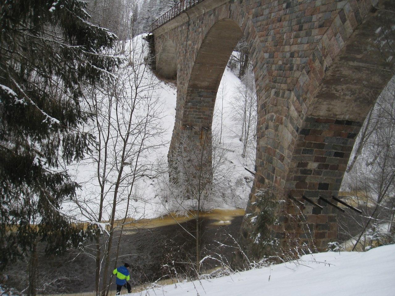 НЕИЗВЕСТНЫЕ КРАСОТЫ РОССИИ.Старинный арочный мост через реку Ярынью. Новгородская область