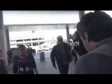 1 июля 2017 - Роберт в аэропорту в Лос-Анджелесе, США