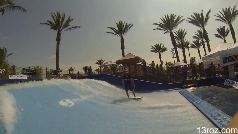Pro Flowboarding contest in Riverside (Flow Tour 2013)