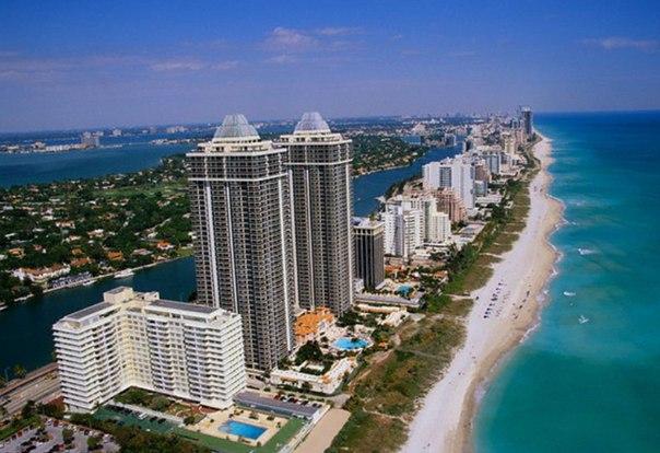 #Майами#Флорида (США). Наши наставники отдыхают за счет компании-пар