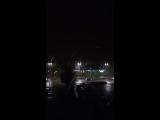 В Атырау сегодня ночью прошел град размером с горошину