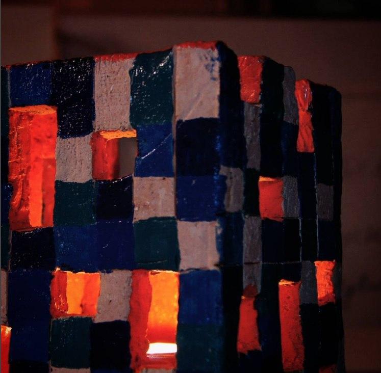 светильник «морской кубик»