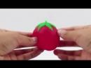 Лизун-бомба фрукты
