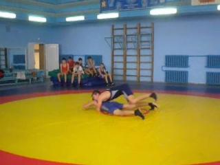 Тренировочная схватка - отделение греко-римской борьбы - Коваленко Н.Н.