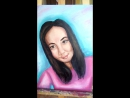 Портрет по фотографии. холст масло 35х50