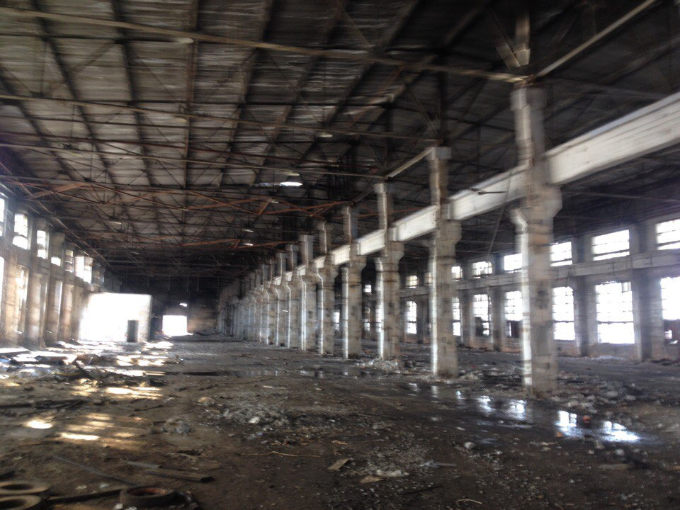 Заброшенный завод КЗКТ, Курган
