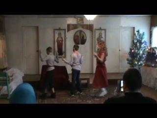 Воскресная школа с.Криуши сказка,.Карлик нос,, на Рождество.