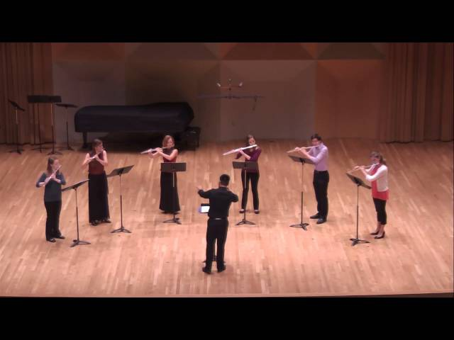 Melody by Reinhold Glière for Flute Ensemble
