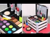 MAKE UP Cosmetics Box Cake  Pastel Caja De Maquillaje by Cakes StepbyStep