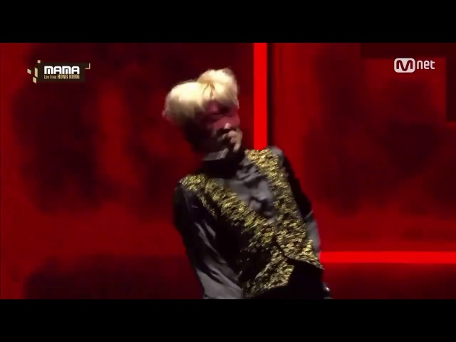 [MAMA 2016] BTS Jimin Blindfolded Contemporary Dance