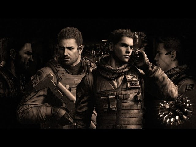 Resident Evil 6 Chris Piers All Cutscenes Movie