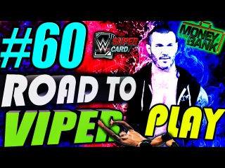 WWE Supercard #60 Road to Viper play, New MITB