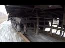 GoPro Тележка пассажирского вагона КВЗ-ЦНИИ 2 / Passenger car bogie 2