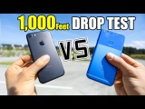 Google Pixel vs iPhone 7 - 1,000 FEET DROP TEST!!