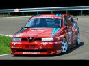 Alfa Romeo 155 GTA at Verzegnis 550Hp 4wd Rare Monster