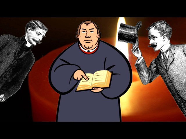 Martin Luther Yells About Inferior Anglican Christmas Hymns