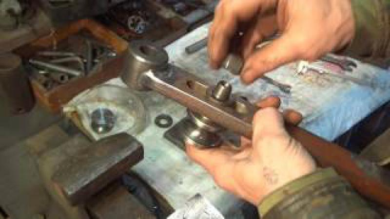 Самодельный трубогиб, Homemade Roller Bender самодельный гидроколун,работа на станке 1К62.