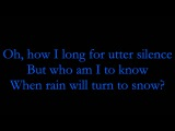 Kamelot - Epilogue (lyrics)
