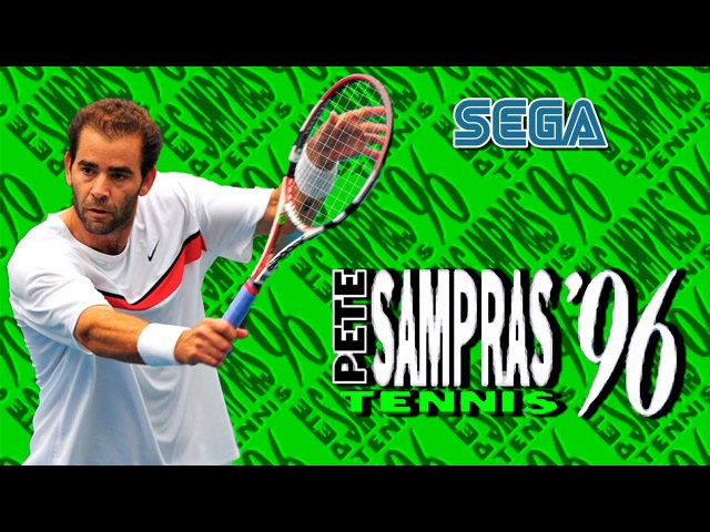 Pete Sampras Tennis '96 gameplay Sega Mega Drive Genesis