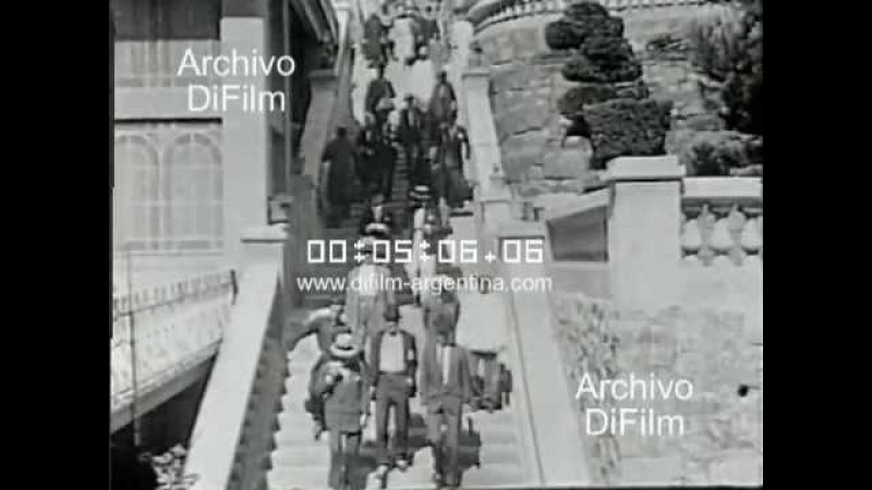 DiFilm - Los ferrocarriles en Argentina (1924)