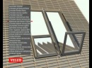 Видео презентация и монтаж мансардного окна балкона GDL