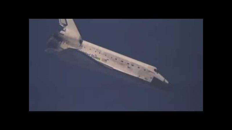 посадка ШАТТЛА ЭТО НУЖНА ВИДИТ landing shuttles IT SEES NEED NASSA